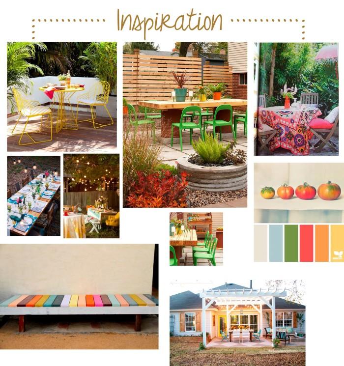 Backyard Inspiration. She Loves Happy Lifestyle Blog
