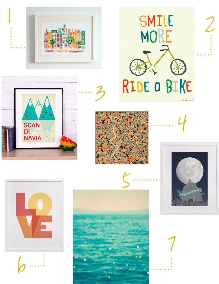 Favorite Finds. February. Prints. She Loves Happy Lifestyle Blog