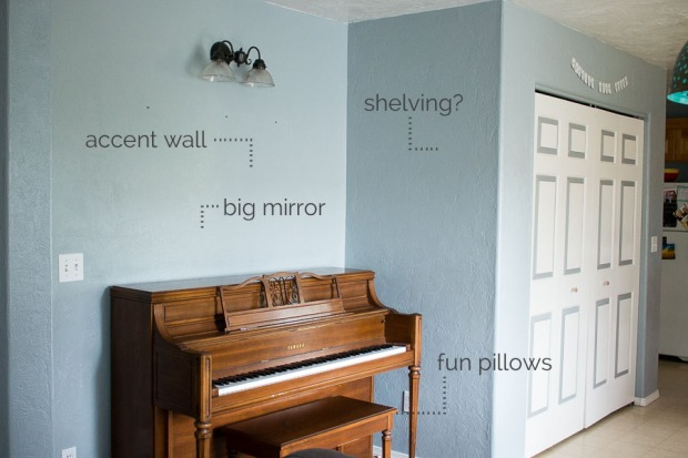 piano wall ideas