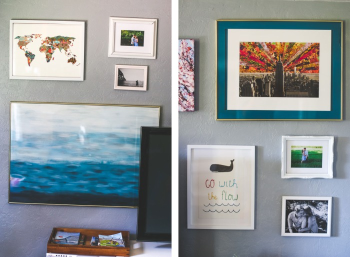 Living Room Gallery wall 2