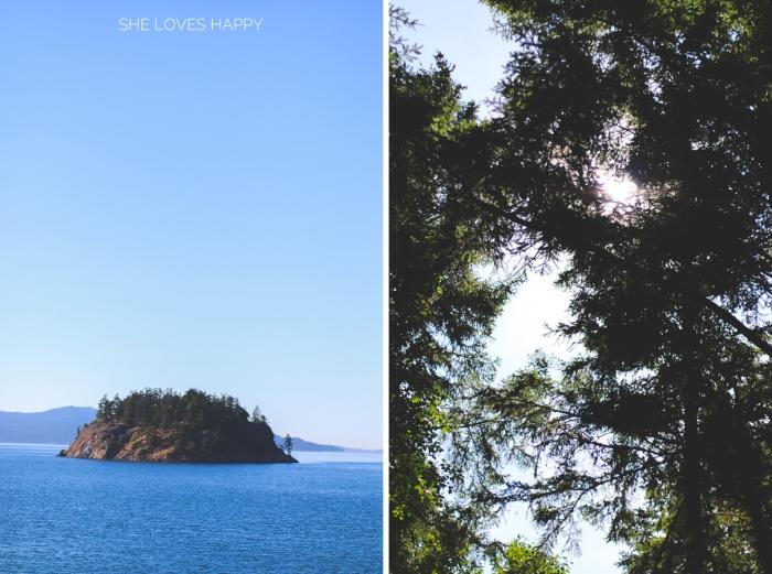 Lopez Island. She Loves Happy