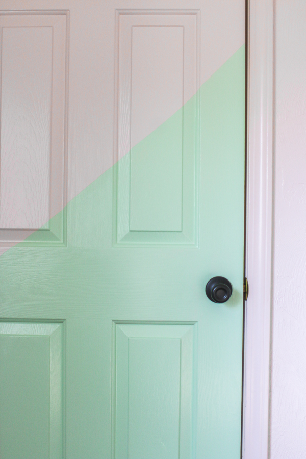 2Half Painted Door. Playroom. She Loves Happy Lifestyle Blog (1 of 1)