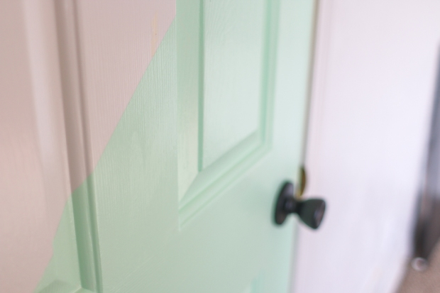 Half Painted Door. Playroom. She Loves Happy Lifestyle Blog (6 of 7)