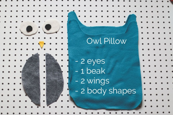DIY Animal Pillow. She Loves Happy Lifestyle Blog2