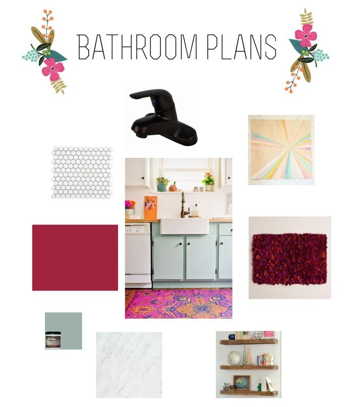 Bathroom Plan Board