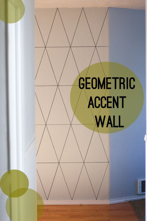 Geometric Accent Wall. She Loves Happy Lifestyle Blog (1 of 5)4