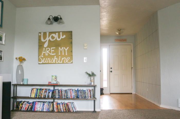 Geometric Accent Wall. She Loves Happy Lifestyle Blog (4 of 11)